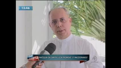Paróquia Nossa Senhora das Dores promove o 1º Maceió Orando