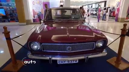 Exposição reuniu 11 modelos do Ford Corcel em Maceió