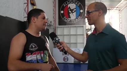 Aulão de Muay Thai na academia Alagoas Top Team