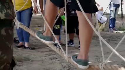 Conheça o projeto que leva o judô para crianças e adolescentes com deficiência