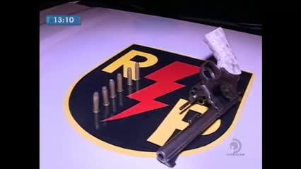 Polícia apreendeu arma de fogo no Vale do Reginaldo