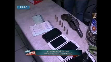 Casal foi preso acusado de praticar arrastões na parte alta de Maceió