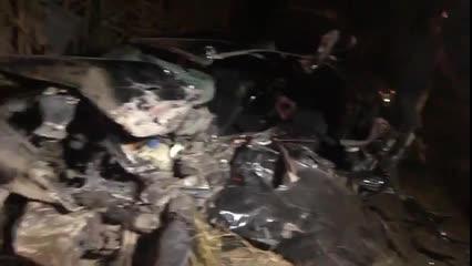 Grave acidente entre carro e ônibus deixa dois gravemente feridos em Marechal Deodoro