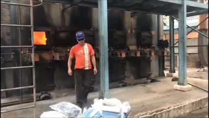 PF incinera 800 quilos de drogas em Marechal Deodoro