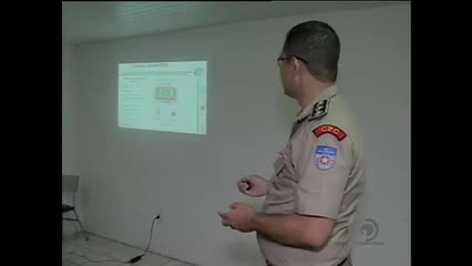 Foi apresentado hoje o esquema de segurança para o jogo do CSA