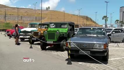 Maceió sediou grande Encontro de Veículos Antigos