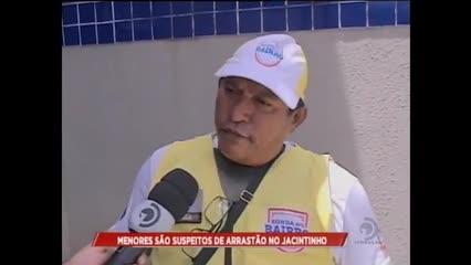 Menores são suspeitos de arrastão no Jacintinho
