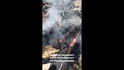 Ator de Grey's Anatomy mostra casa destruída após incêndios na Califórnia