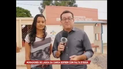 Moradores reclamam da falta de água em Lagoa da Canoa