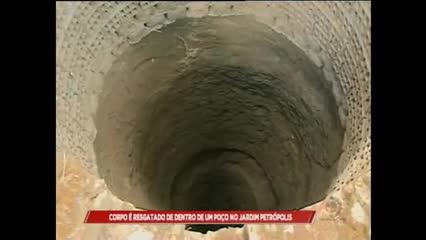 Corpo foi encontrado dentro de poço no Jardim Petrópolis