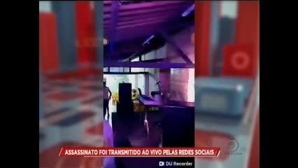 Assassinato foi transmitido ao vivo pelas redes sociais