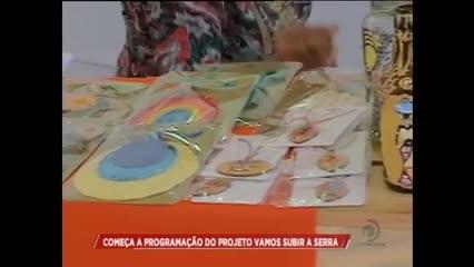 """Começa a programação do projeto """"Vamos Subir a Serra"""