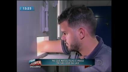 Suspeito de matar o filho com tiro de espingarda foi preso em São José da Laje