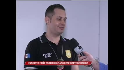 Padrasto e mãe foram indiciados por morte de menino de 2 anos em Rio Largo