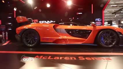 Salão do Automóvel de SP: McLaren Senna