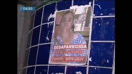 Família pede ajuda para encontrar senhora que está desaparecida