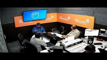 Raimundo Tavares em entrevista ao Pajuçara Futebol Clube