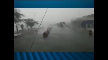 Chuvas de granizo no Sertão de Alagoas