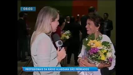 Profissionais do PSCOM foram homenageados no Prêmio Radialista Odete Pacheco