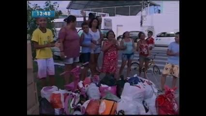 Natal Solidário esteve no bairro do Vergel