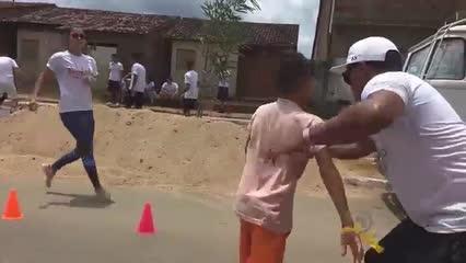 Projeto leva atividades para crianças de Santana do Mundaú