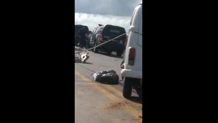 Grave acidente entre Pajero e Kombi deixa morto e feridos em Marechal
