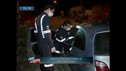 Corpo de um homem foi encontrado dentro de carro em Rio Largo