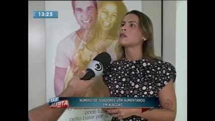 Número de doadores de órgãos vem crescendo em Alagoas