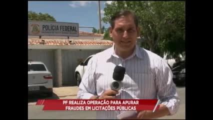 PF realiza operação para apurar fraudes em licitações públicas