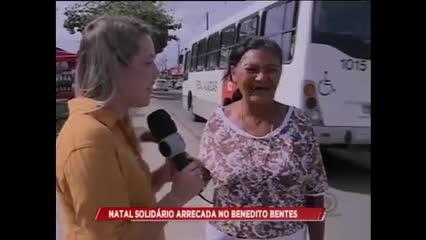 Natal Solidário arrecada no Benedito Bentes