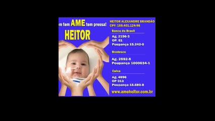 Mano Walter pede doações para ajudar em tratamento de bebê com doença degenerativa