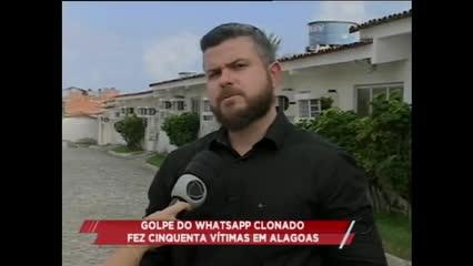 Golpe do Whatsapp clonado fez cinquenta vítimas em Alagoas