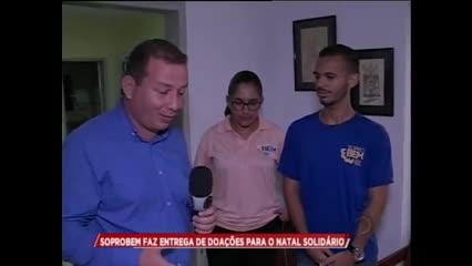 Soprobem fez entrega de doações para o Natal Solidário