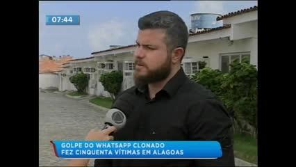 Mais de cinquenta pessoas foram vítimas do golpe do WhatsApp em Alagoas
