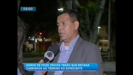 Donos de Food Trucks terão que retirar carrinhos ao término do expediente