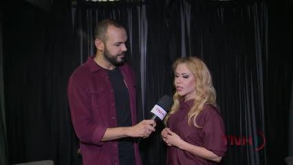 Joelma fala sobre parceria com Thalia em entrevista exclusiva ao TNH1