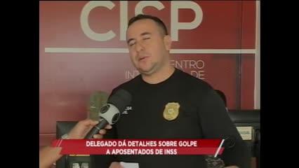Delegado dá detalhes sobre golpe a aposentados do INSS