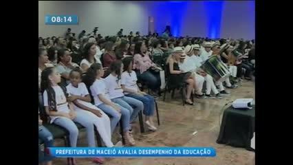 Prefeitura de Maceió avalia o desempenho da educação municipal em 2018
