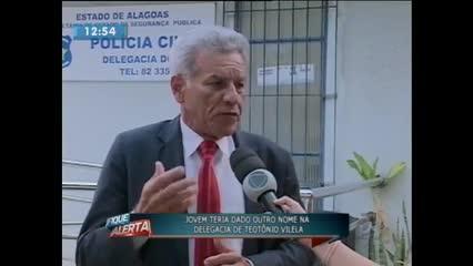 Homem foi preso suspeito de tráfico em Teotônio Vilela