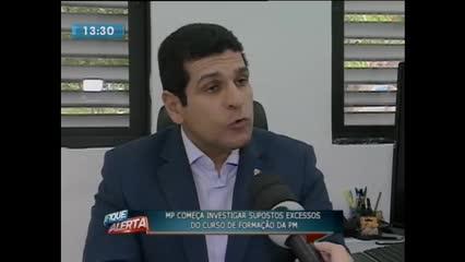 Ministério Público investiga supostos excessos no curso de formação da PM
