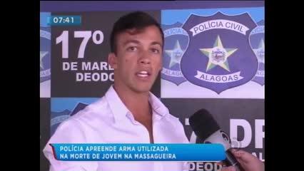 Polícia apreende arma utilizada para matar jovem na Massagueira