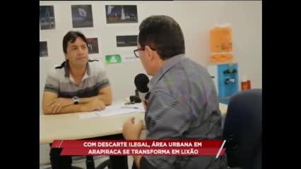 Lixão tira o sossego de moradores de Arapiraca