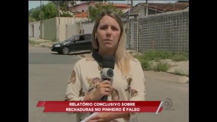 Relatório conclusivo sobre rachaduras no Pinheiro é falso