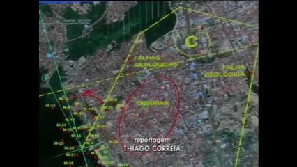 Estudo de geólogo alagoano pode ajudar a descobrir as causas das rachaduras no Pinheiro