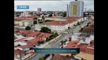 Operadores de drones fizeram imagens para ''SOS Pinheiro''