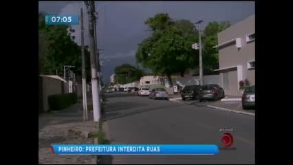 Prefeitura de Maceió divulga cronograma de interdições de ruas no Pinheiro