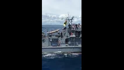 Militares dançam 'Jennifer', e Marinha diz que comportamento é 'inaceitável'