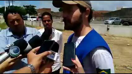 Técnico da CPRM fala sobre exames de percussão que são realizados no Pinheiro