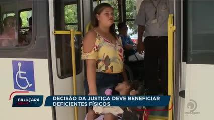 Pessoas com deficiência devem voltar a ter direito a gratuidade no transporte público de Maceió