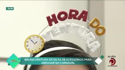 Bruno Ventura dá dicas de acessórios para arrasar no carnaval - Bloco 02